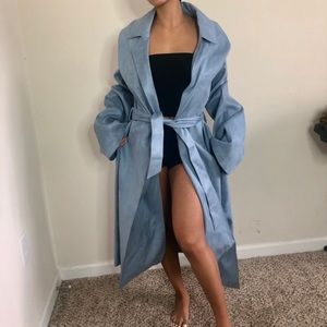 HOUSE OF CB light blue coat